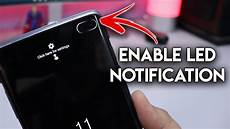 Light Notification For Android Enable Led Notification Light On Galaxy S10 S10 Punch