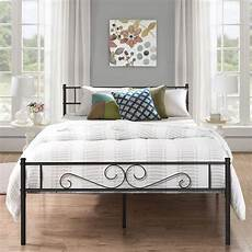 shop vecelo easy set up premium metal bed