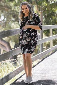 Pink Blush Maternity Size Chart Love This Beautiful Floral Fitted Plus Size Maternity