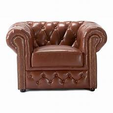 chesterfield armchair brown leather for hire from well