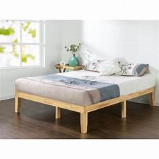 zinus solid wood platform bed frame hd rwpb