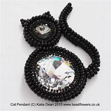 beaded cat pattern beadflowers by dean