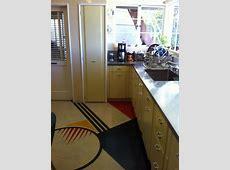 Streamline Modern Inlay floor   Streamline moderne, Metal for sale, Kitchen flooring