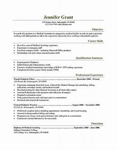 Medical Assistant Summary Medical Assistant Resume Templates And Job Tips Hloom