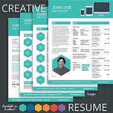 Creative Resumes Templates Free Creative Resume Template For Pages Mactemplates Com
