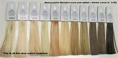 Wella Toner Chart Illumina Hair Color By Wella In 2019 Wella