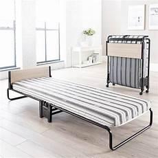 revolution folding bed with airflow fibre mattress single