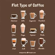 Different Types Of Coffee Cappuccino Vectors Photos And Psd Files Free Download