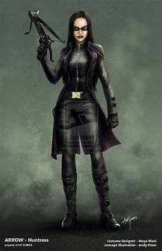 Arrow Costume Designer Image The Huntress Concept Artwork Png Arrowverse Wiki