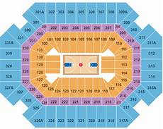 Thompson Boling Arena Seating Chart With Row Numbers Thompson Boling Arena Seating Chart Amp Maps Knoxville