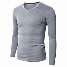 sleeve tees for 100 cotton mens slim basic t shirt sleeve v neck