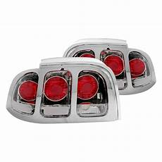 Ford Mustang Euro Lights Anzo 174 221018 Ford Mustang 1994 1998 Chrome Euro Lights