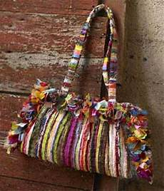 fabric crafts recycled handbags made from recycled fabrics recycled