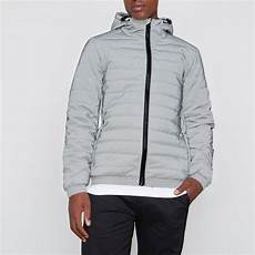 coats for reflective grey reflective funnel neck puffer jacket jackets