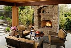Back To Back Fireplace Design Outdoor Fireplace Portland Or Photo Gallery