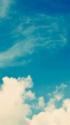 Iphone Wallpaper Nature Sky by Ios 8 Blue Sky Clouds Iphone 6 Wallpaper Ipod Wallpaper
