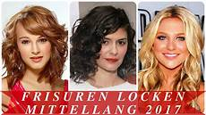frisuren frauen locken halblang frisuren locken mittellang 2017
