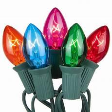 Colored Led Lights Christmas C7 Christmas Lights 25 C7 Transparent Multicolor