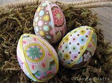 fabric crafts easter s crafts fabric easter eggs