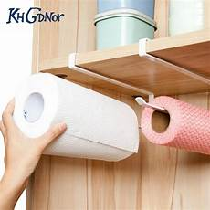useful kitchen cupboard hanging rack toilet paper towel