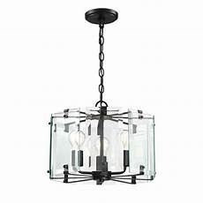 Cordelia Lighting Cordelia Lighting Decorative Interior 3 Light Black