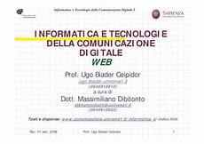 dispensa di informatica elementi di informatica web dispense