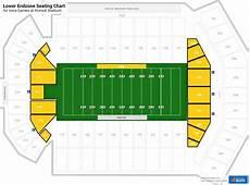 Many Rows Kinnick Stadium Seating Chart Lower Endzone Kinnick Stadium Football Seating