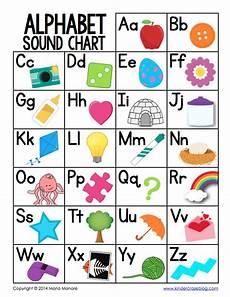 Sounds Chart Freebielicious Free Alphabet Sound Chart
