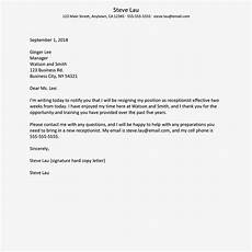 Letter Of Resognation What To Include In A Resignation Letter To Quit A Job