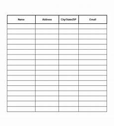 Sign Up Chart 40 Sign Up Sheet Sign In Sheet Templates Word Amp Excel