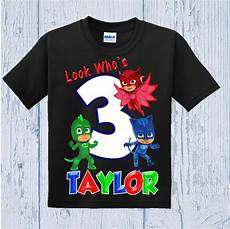 pj mask clothes pj masks birthday shirt pj masks shirt other colors