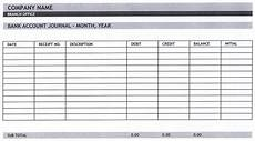 Expenses Journal General Knowledge Library Expense Report Template