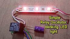 Make Led Lights Flash Without Ic How To Make Simple Oscillator