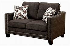 Nailhead Trim Sofa 3d Image by Stylish Gray Sofa With Nailhead Trim Ideas Modern Sofa