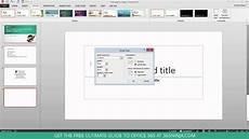How To Change Powerpoint Template Change Your Powerpoint Slide Size Widescreen Vs Standard
