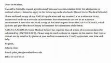 Sample Medical School Recommendation Letter 8 Medical School Recommendation Letter Pdf Word