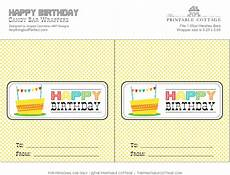 Free Birthday Candy Wrapper Template Free Printable Happy Birthday Candy Bar Wrapper