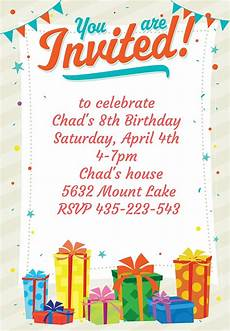 Printable Party Designs 10 Party Invitation Templates Freecreatives