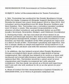 Ocs Letter Of Recommendation Example Free 27 Recommendation Letter Templates In Ms Word Pdf