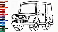 jeep drawing free on clipartmag
