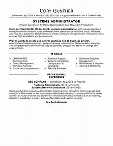 Network Administrator Resume Objective Professional Resume For Network Administrator Network
