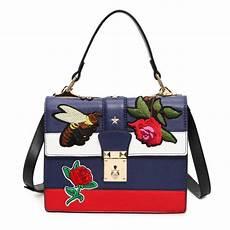 2017 autumn national vintage embroidery shoulder bag
