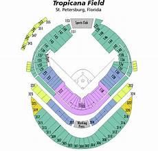 Rays Seating Chart Tropicana Field Breakdown Of The Tropicana Field Seating Chart Tampa Bay