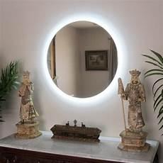 Conair Led Natural Light Vanity Mirror Side Lighted Led Bathroom Vanity Mirror 48 Quot X 48 Quot Round