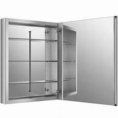 kohler verdera 24 quot w x 30 quot h aluminum medicine cabinet