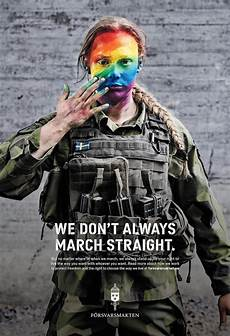 Ads Of The World Swedish Armed Forces Pride Ads Show Soldiers Don T