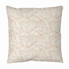 Decorative Throws For Sofa Png Image by Seamless Pattern With Contour Autumn Leaves On