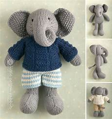 elephant knitting patterns in the loop knitting