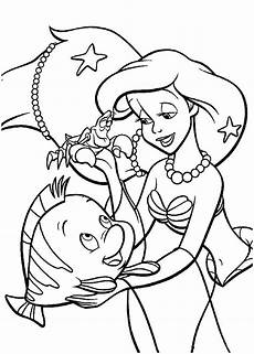 ariel the mermaid coloring pages for to print