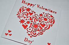 Designs For Valentines Card Sweet Pea Design Laser Cut S Day Card